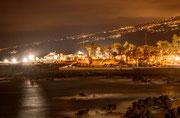 Nachts in der Bucht