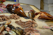 Tintenfische Markthalle Chania