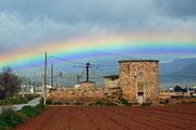 Regenbogen bei Muro
