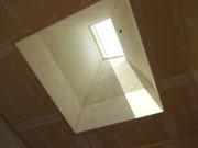屋根からの採光