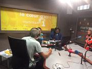 Interview radio Martinique Premiére