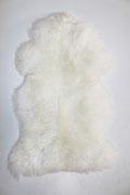 Peau de mouton Blanche naturelle