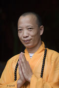 A Chinese monk