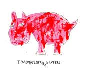 Traumatisiertes Nilpferd