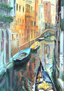 Venedig (2), 100 x 70 cm, Acryl auf Leinwand