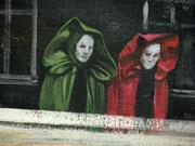 Das Fest der Masken, Detail