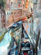 Venedig (1), 80 x 60 cm, Acryl auf Leinwand, / verkauft /