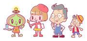 コンペ用キャラクターデザイン