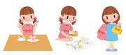 講談社「ファーストブックディズニー・プリンセスのすてきなマナーレッスン」イラスト