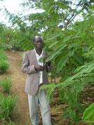 Philip im Garten