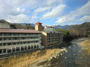 辰巳館の目の前を利根川が流れるんですね。