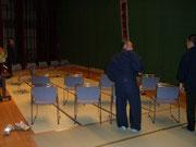 閉会式の準備1