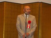 祝辞 前天台仏教青年連盟代表 当会の綾小路乗俊