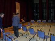 閉会式の準備2