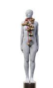 A. CAÑERO. Mujer con cascabeles. 2013. Ed. 6. Bronze. 167 x 34 x 34 cm.