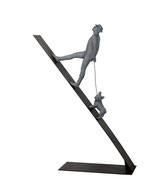 A. CAÑERO. Caminante V. 2010. Ed. 6. Bronze. 185 x 102 x 35 cm.