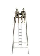 A. CAÑERO. Socorristas de Biarritz I. 2000. Ed. 25. Bronze. 153 x 60 x 40 cm.