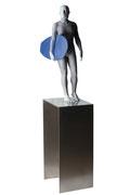 A. CAÑERO. Surfiste. 2011. Ed. 6. Bronze. 168 x 33 x 94 cm.
