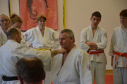 Martin Sülz 4. Dan Jiu Jitsu und Andreas Raskopf