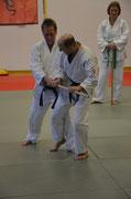 Martin Süz 4. Dan Jiu Jitsu und Peter Frank 1. Dan Jiu Jitsu