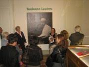 Besichtigung der Toulouse-Lautrec-Ausstellung in Linz
