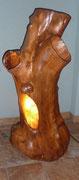 Baumlampe aus Apfel
