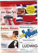 Schonunger Kirchweih 2009 - Flyer