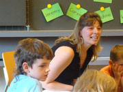 Meine erste Klassenlehrerin Frau Claudine Eichenberger.