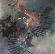 """Mystery Tour""  36""x 36"" x1.5"" Acrylic on Gallery wrap canvas $1950"