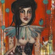 "Nineteenth & Charlotte by Teresa Magel, 30x 30"", $1400"