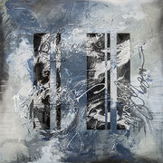 """scripted Narrative 36"""" x 36"""" acrylic on Canvas $1950"""