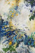 Blue Grass Festival 30 x 20 acrylic on Canvas