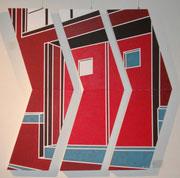 Structure 10  4ft x 4ft triptych  A/C  $1200