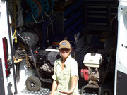 Frau Meisel Maschinenpark / Ausrüstung