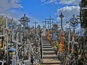 Fiddi, Karfreitag-Berg der Kreuze/Litauen