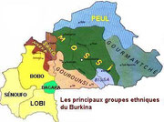 Carte des ethnies