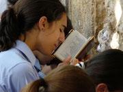 Israel, Jerusalem, an der Klagemauer