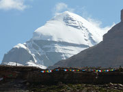 Tibet, Kailash, Südwest Wand