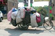 Nepal, Kathmandu, Müllabfuhr