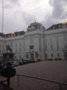 Rundfahrt mit dem Fiakert, Uni-Wien