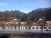 Blick aus dem Hotelzimmer, Passau