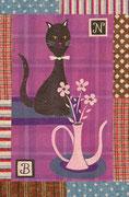 Cat & Vase ネコと花瓶