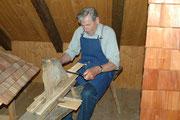 Holzschindelmacher Hr. Renner