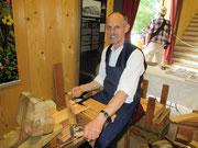 Holzschindelmacher aus Bayern in Grossgmain