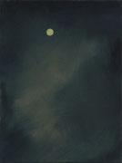 Mond, Öl/Leinwand, 40 x 30 cm, 2016