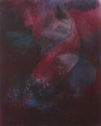 Der Fisch, Acryl/Pigment/Leinwand, 100 x 80 cm, 2010