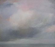 Große Wolke, Acryl/Pigment/Leinwand, 130 x 140 cm, 2004