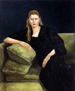 L. Öl/Leinwand, 90 x 75 cm, 1998