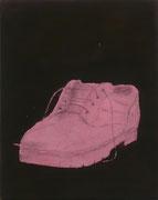 Stilles Leben_1, Mischtechnik/Baumwolle, 40 x 30 cm, 2003