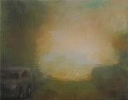 Lichter_4, Öl/Nessel, 40 x 50 cm, 2015